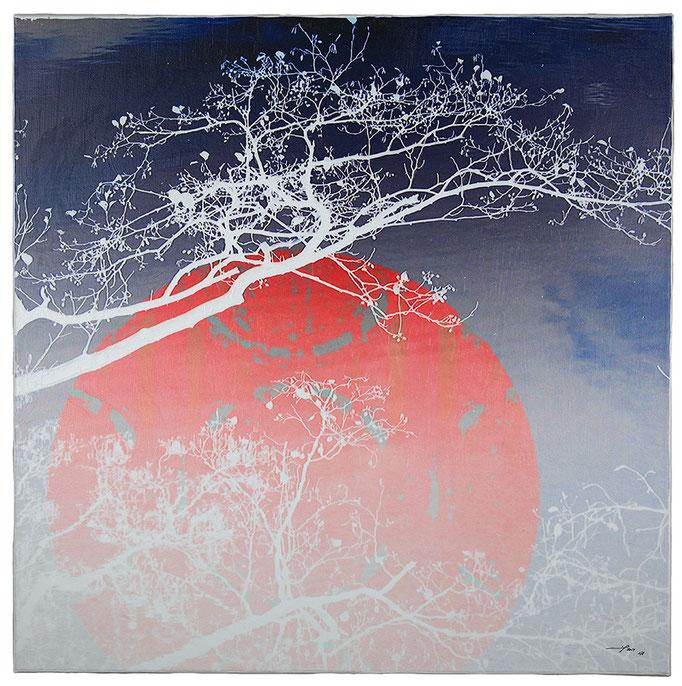 PACIELA (2014, 1/8, 65x65cm, MP0047, Photographien, Inkjet-Pigmentdruck auf Leinwand, Acryl) © Michael Pfenning. Verkauft/Sold