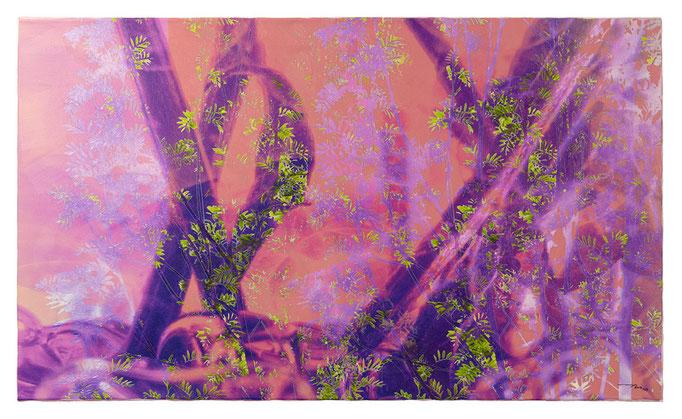 SUCHEN UND GEFUNDEN WERDEN (2015, 1/8, 110x65cm, MP0124, Photographien, Inkjet-Pigmentdruck auf Leinwand, Acryl) © Michael Pfenning. Verkauft/Sold