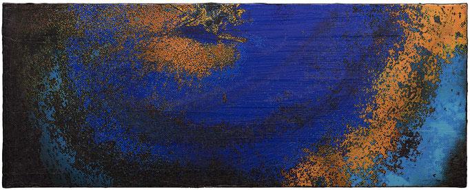 BIGAPPLE (2014, 1/8, 115x45cm, MP0005, Photographie, Inkjet-Pigmentdruck auf Leinwand, Acryl) © Michael Pfenning