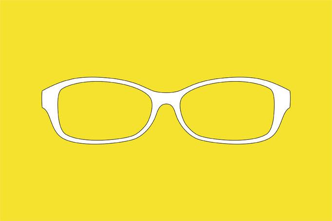 """semi order """"SG-02"""" バタフライタイプのフレーム。視野が広く取れるのでサングラスにもお勧め。"""