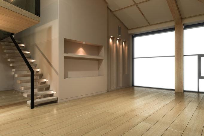 die kragarmtreppe designed by tbs. Black Bedroom Furniture Sets. Home Design Ideas