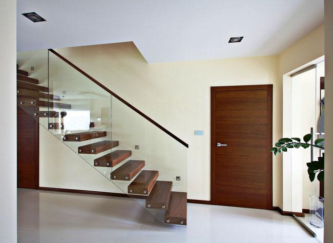 kragarmtreppen designed by tbs. Black Bedroom Furniture Sets. Home Design Ideas