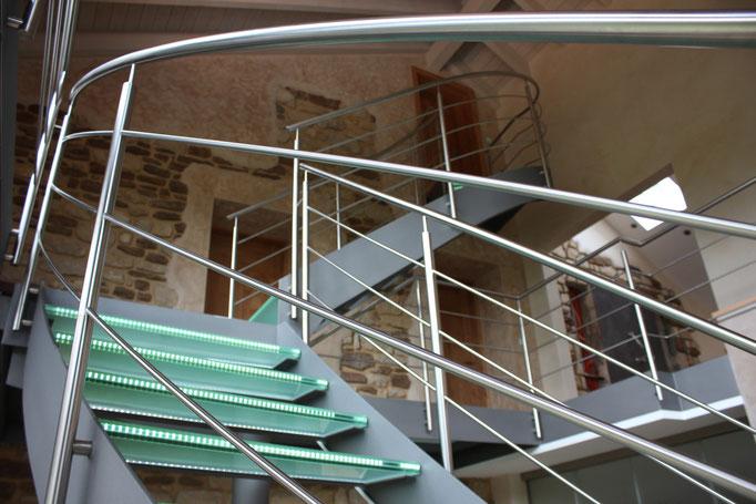 Glastreppe Luxemburg G 110