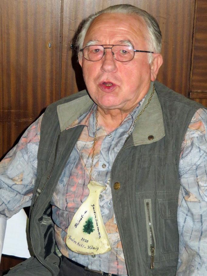 Gerhard Rieke wurde zum Kohlkönig gekürt