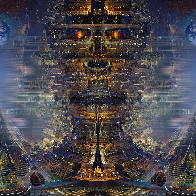 City Robot © kaleidoscope king 2013