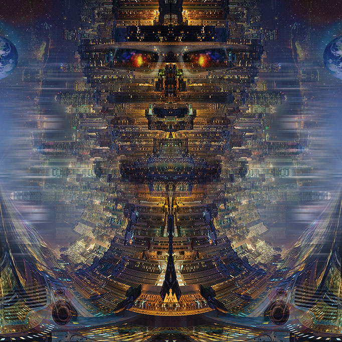 City Robot © kaleidoscope king 2014