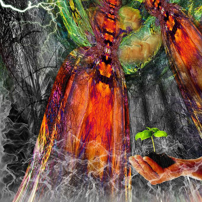 Rebirthing © kaleidoscope king 2015