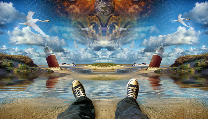 Devils Island - Texel © kaleidoscope king 2014