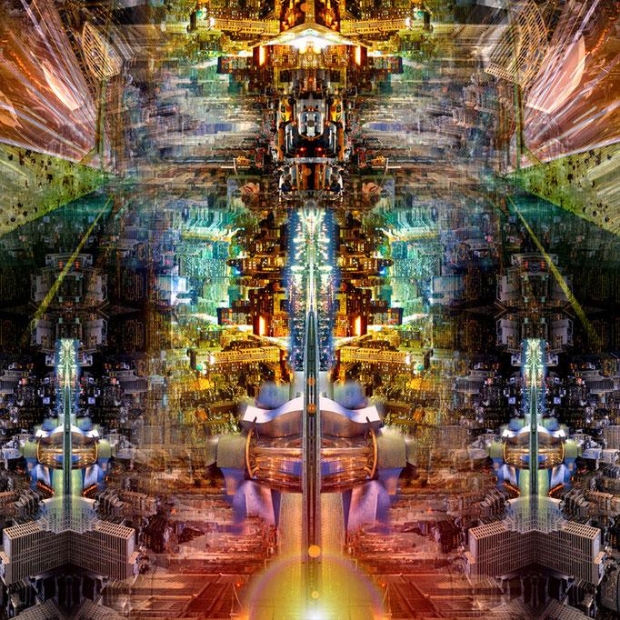 Sci-Fi world © kaleidoscope king