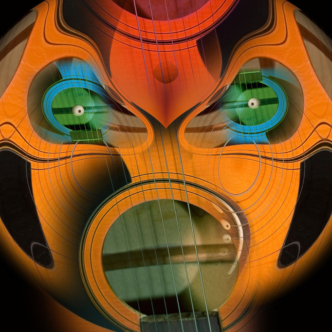 Guitar face © kaleidoscope king