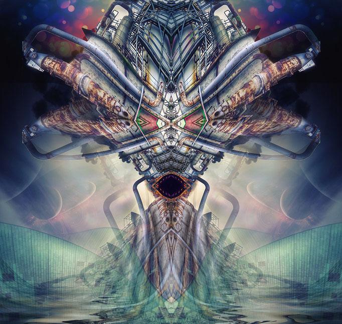 Seemonster © Kaleidoscope King - nov. 2014
