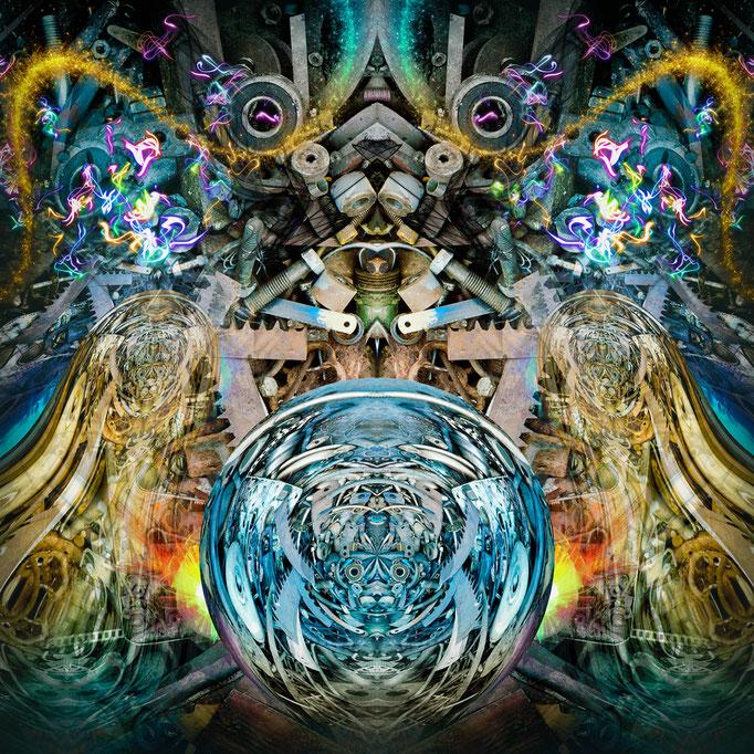 Psychedelica © kaleidoscope king 2018