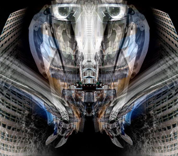 the thinker © kaleidoscope king