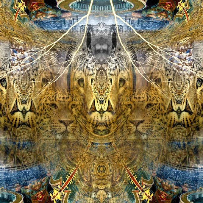 Leopard skinned © kaleidoscope king