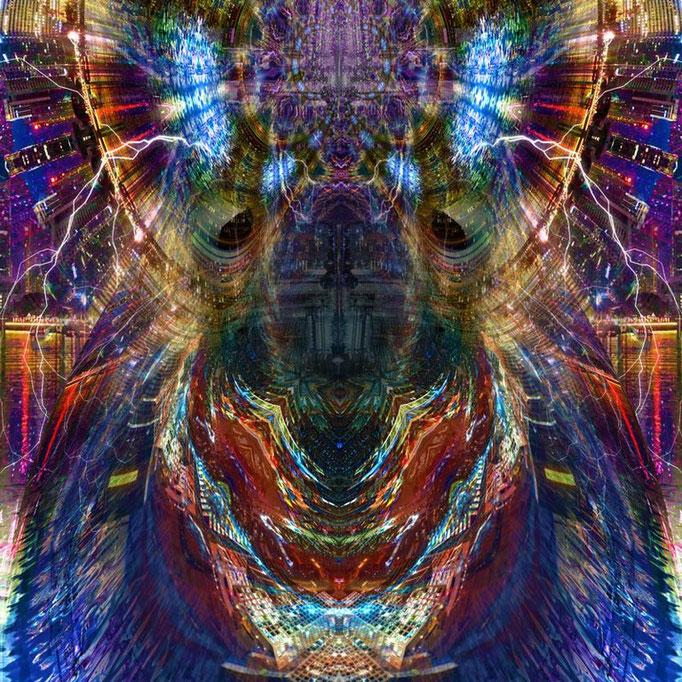 Space Dog © kaleidoscope king