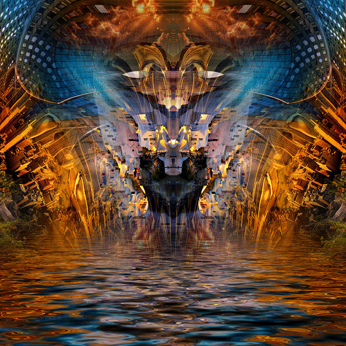 Sea monster © kaleidoscope king 2014