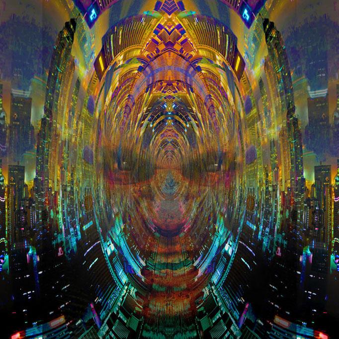 City Warroir © kaleidoscope king