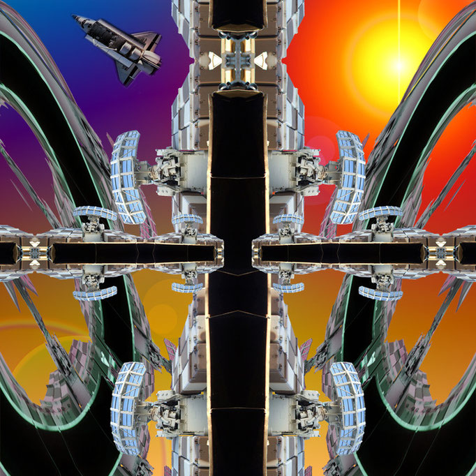 Space ship © kaleidoscope king