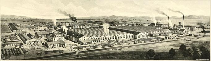 Waggonfabrik Rastatt, heute BWR Waggonreparatur; © BWR Waggonreparatur