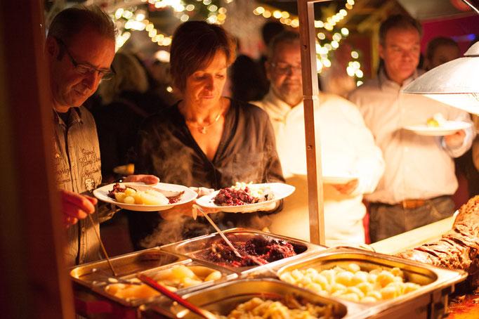 Hauptgang - Buffet - Weihnachts-Happening