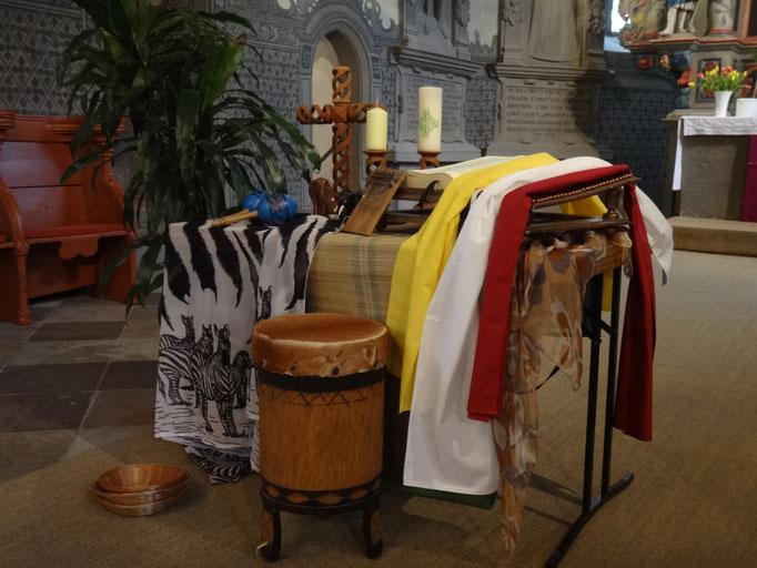 Vorbereitung Kirche