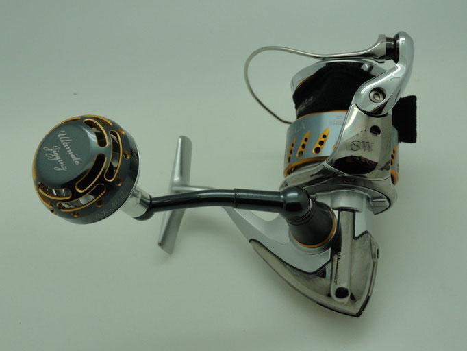 PRK 40mm II Knob NS Cup vs 2010 Stella SW 5000 Reel