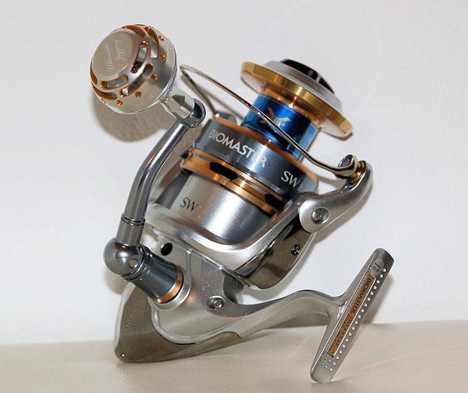 PRK 40mm II Knob NS Cup vs Shimano Diomaster SW 10000 Reel