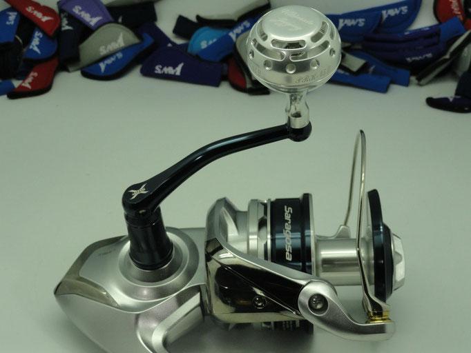 PRK 45mm II Knob vs Saragosa 25000 SW Reel
