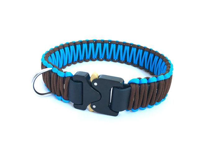 New Brown/Baby Blue mit COBRA-Sicherheitssteckschliesse