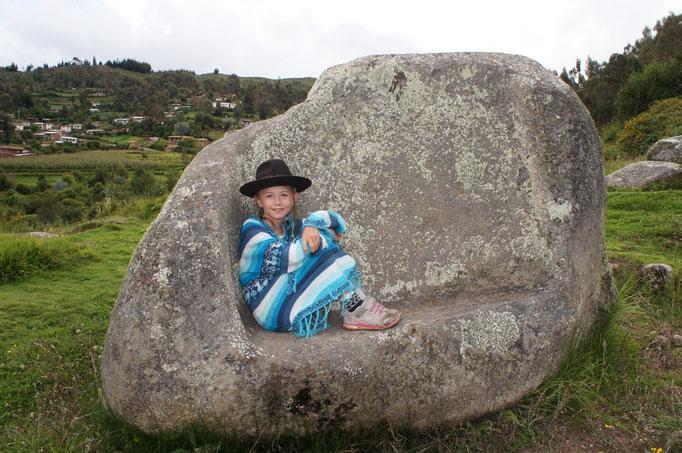 Une péruvienne en chemin !