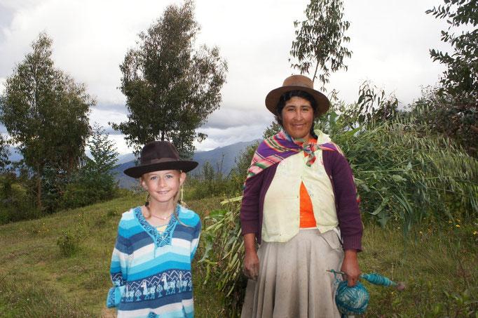 Deux péruviennes !