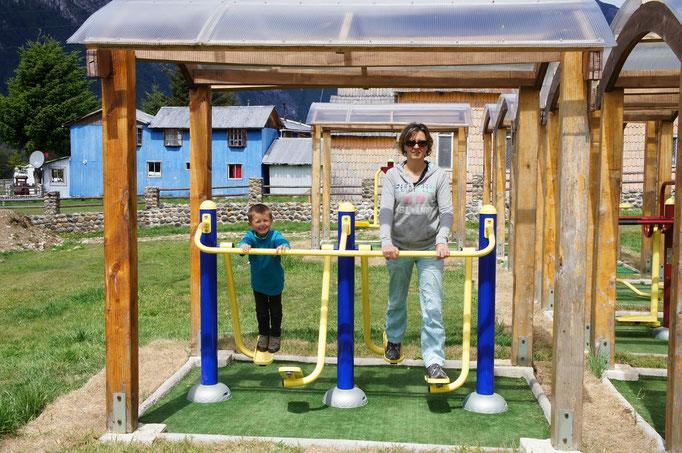 On peut faire du sport dans tous les villages !