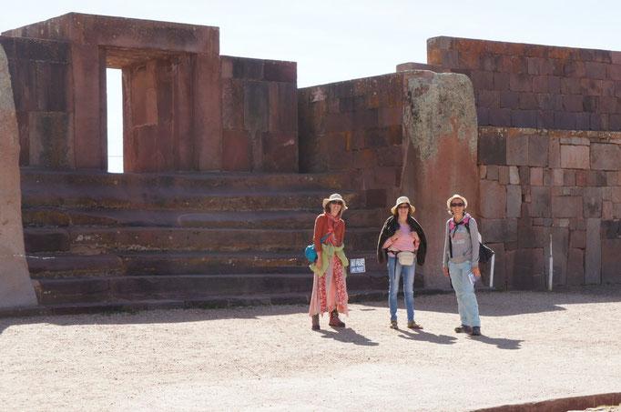 Sur le site de Tiwanaku
