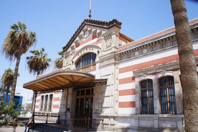 L'ex douane d'Arica contruite par Eiffel
