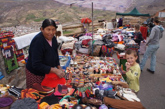 ... dans les villages des indiens aymaras.