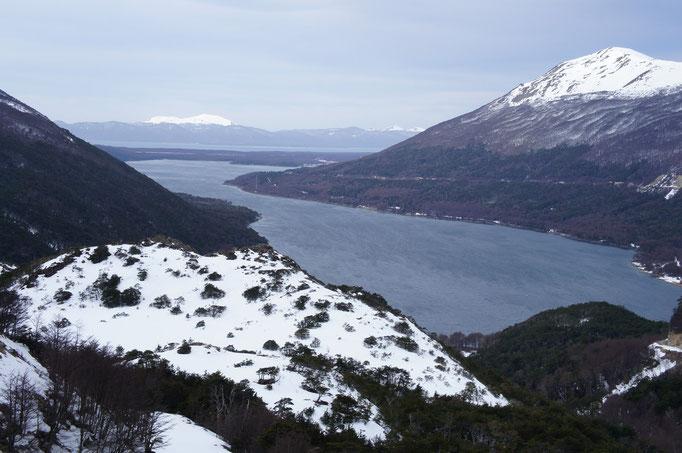 Lac avant le col de Gribaldi ...