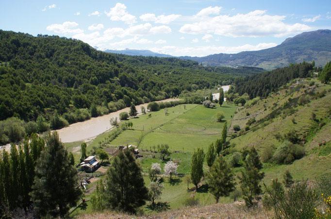La vallée de Coyhaique