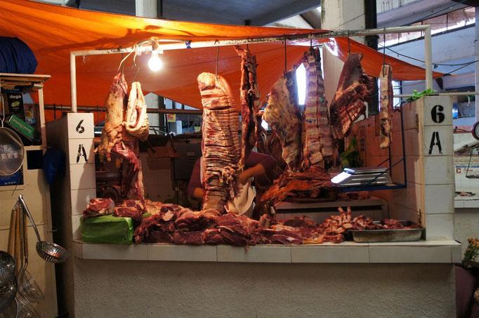 ... et de la viande ... à l'air libre !