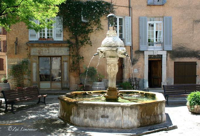 Fontaine de la place de la mairie