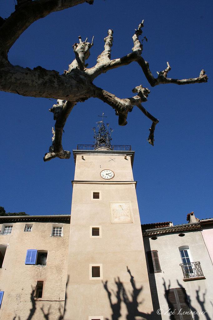 Le campanile de Cotignac