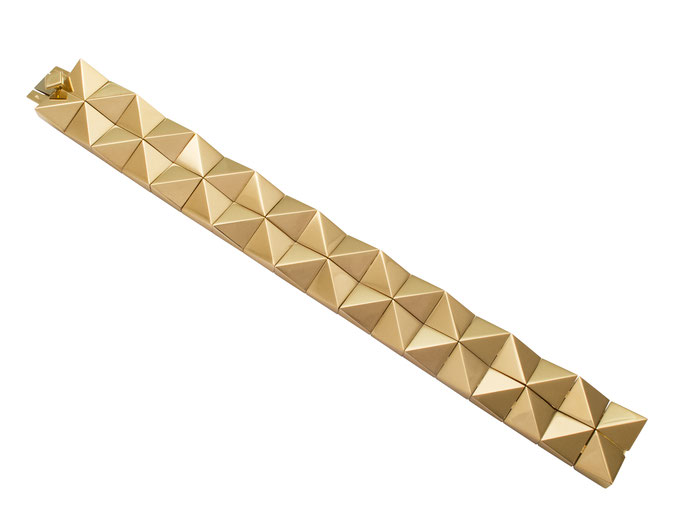Armband aus 18 karat Gelbgold, 9.900 Euro