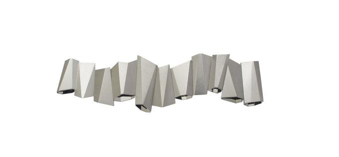 """Armband """"Spiegelfaltungen"""" aus Edelstahl - Honourable Mention beim Red Dot Design Award 2012"""