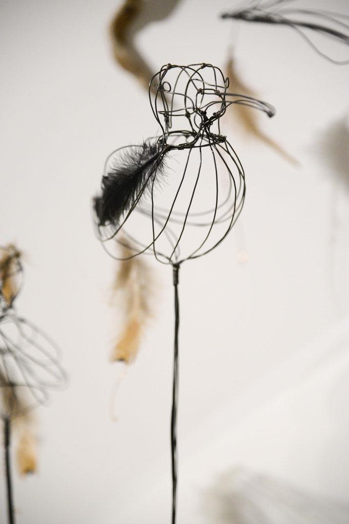 ARC EN LUNE Fabienne Quenard Courlis cendré © Cécile Bouchayer