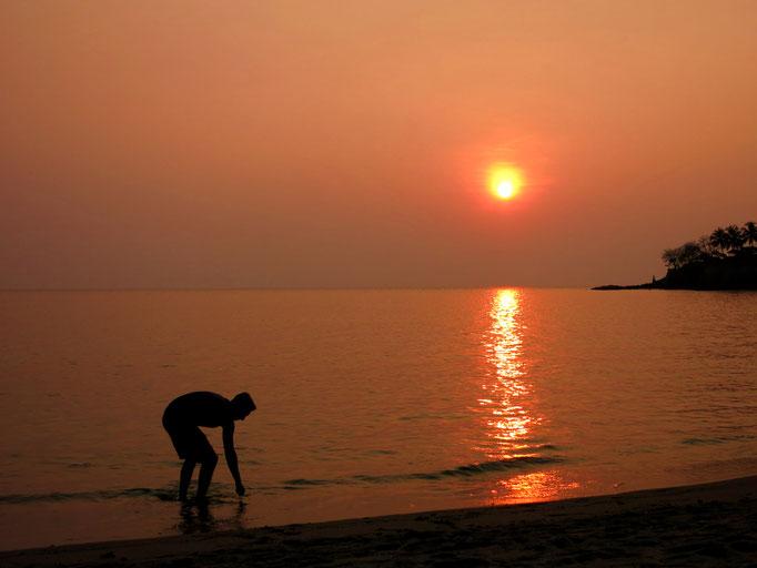 Sonnenuntergang in Senggigi