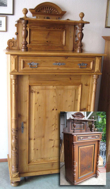 restauration holzwurm antiks webseite. Black Bedroom Furniture Sets. Home Design Ideas