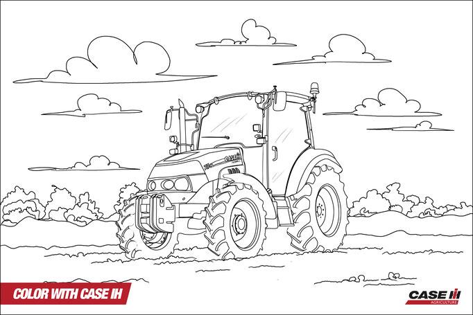 malvorlage traktor  malvorlagen traktor