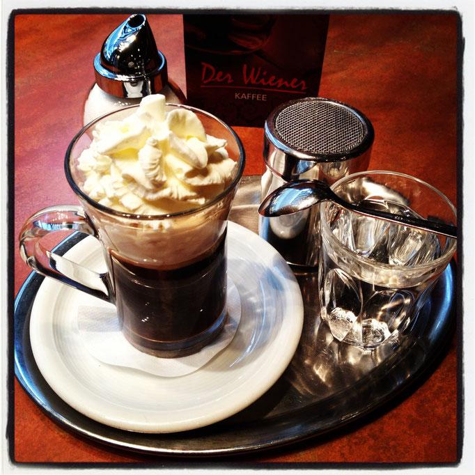 Wiener Kaffeespezialitäten - wie im Kaffeehaus! Zur Kaffeekarte hier klicken!