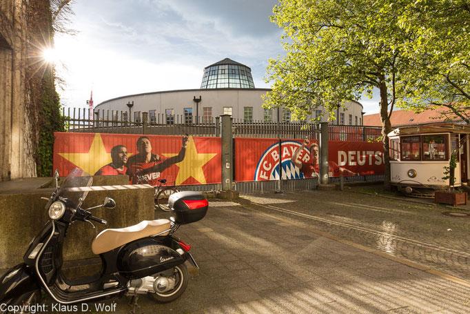 Postpalast München im Bayern-Look, entstanden im Rahmen eines Firmenevents