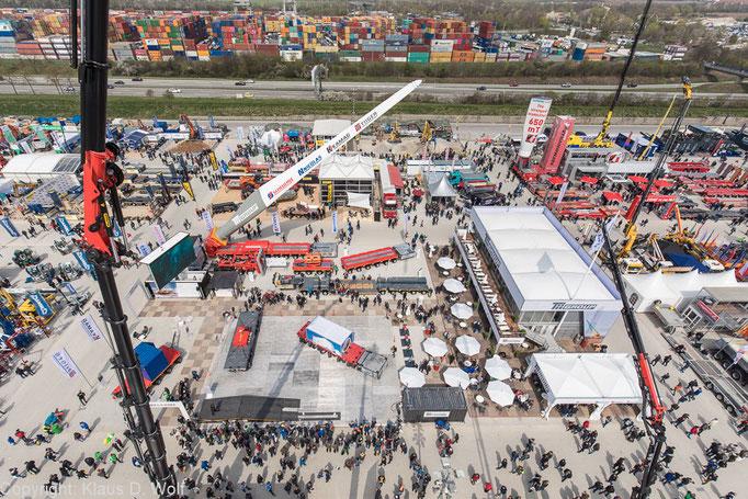 Messefotograf München, Messestand der TII Group auf der bauma