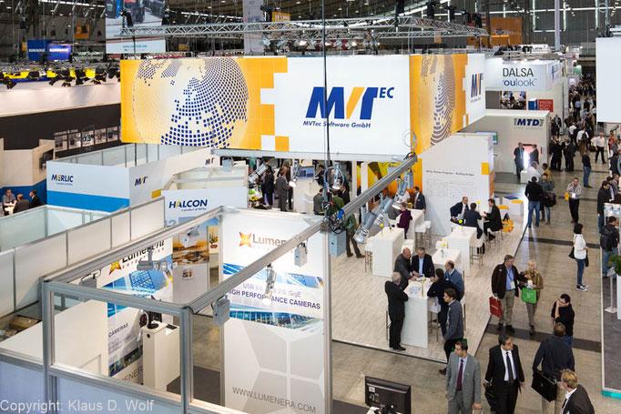 Messefotografie, MVTech Messeauftritt  auf der VISION, Messe Stuttgart